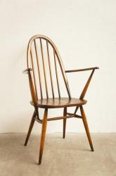 ERCOL アーコール・クエーカーアームチェア ダーク